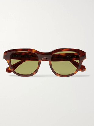 Ahnah Pascal D-Frame Tortoiseshell Bio-Acetate Sunglasses