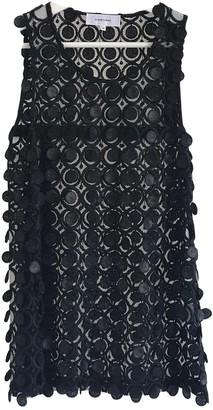 Carven Black Lace Top for Women