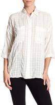 Max Studio Oversize Gingham Shirt