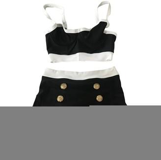 Balmain Black Lycra Swimwear for Women