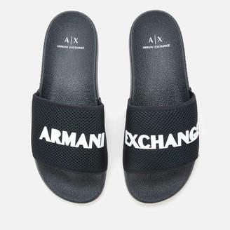Armani Exchange Men's Slide Sandals