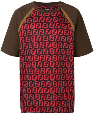 Fendi FF logo printed T-shirt
