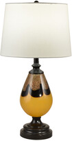 Dale Tiffany Keithia Hand Blown Art Glass Table Lamp