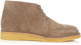 Tomas Maier Lace-up suede boots