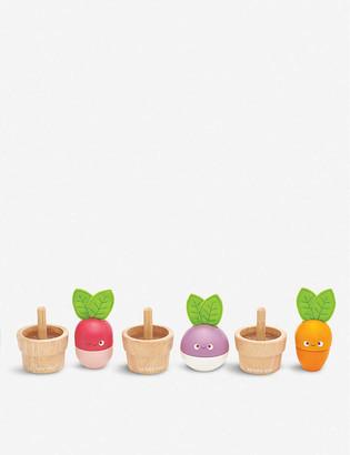 Le Toy Van Petilou Stacking Veggies wooden block puzzle