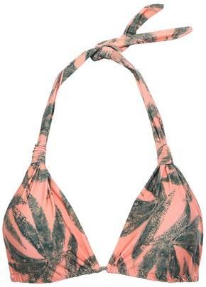 Vix Paula Hermanny Bia Printed Triangle Bikini Top