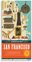 Chronicle Books City Scratch-Off Map: San Francisco