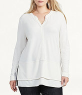 Lauren Ralph Lauren Plus Layered Jersey Top