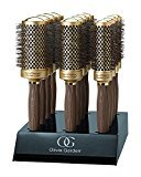 Olivia Garden CERAMIC + ion Display with 12 Round Thermal Brushes 34/44/54 mm - Pack of 4