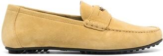 Versace Logo-Plaque Loafers