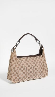 Shopbop Archive Gucci GG Canvas Hobo Bag
