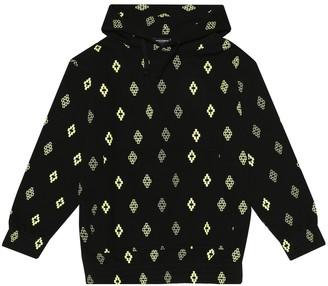 Marcelo Burlon Kids Of Milan Logo cotton-blend hoodie