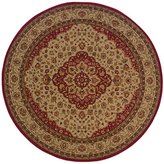 Oriental Weavers 11D Allure Round Area Rug, 7-Feet 8-Inch, /Gold