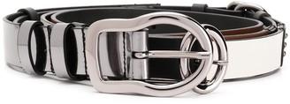 Dorothee Schumacher Skinny Layered Belt
