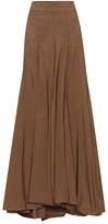 Brunello Cucinelli Silk-blend maxi skirt