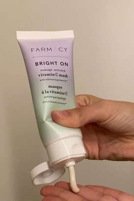Farmacy Bright On Activated Vitamin C Clay Mask