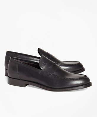 Brooks Brothers 1818 Footwear Leather Penny Loafers