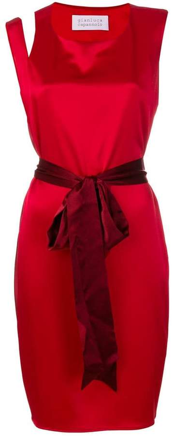 Gianluca Capannolo flared fitted dress
