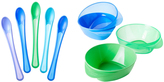Tommee Tippee Blue & Green Easy Scoop Bowls & Weaning Spoon Set