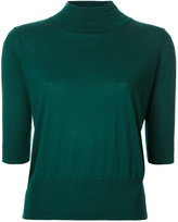 H Beauty&Youth ribbed trim sweatshirt - women - Silk/Cotton - One Size