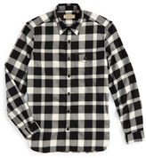 Burberry Men's Lewisham Trim Fit Check Sport Shirt