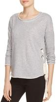 Vintage Havana Lace-Up Sweatshirt