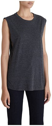 AG Jeans Zoey Tank (Heather Charcoal) Women's Clothing