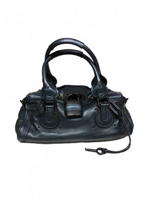 Chloé Paddington Metallic Leather Handbags