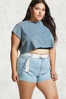 Forever 21 Plus Size Denim Shorts