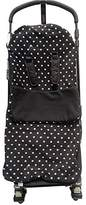 Snuggle Footmuff / Cosy Toes Compatible with Britax Buggy Smart Agile Dual Mobile Bob - Polka Dot Black