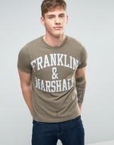 Franklin & Marshall Franklin And Marshall Logo T-shirt