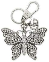 Gucci Metal butterfly with crystals keychain