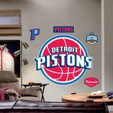 Fathead Detroit Pistons Logo Wall Decal