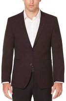Perry Ellis Slim Fit Burgundy Sport Coat