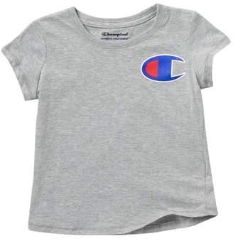 Champion C-Patch T-Shirt (Toddler & Little Girls)