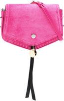 Jimmy Choo Arrow satchel - women - Suede - One Size