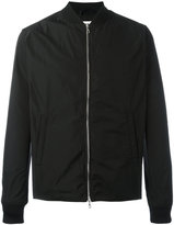 Officine Generale classic bomber jacket - men - Polyester - XS