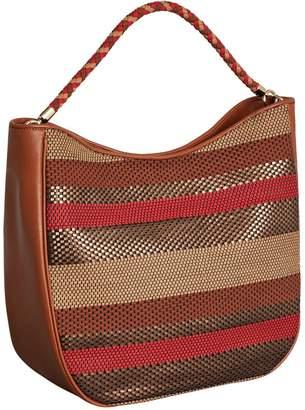BCBGMAXAZRIA Kora Hobo Leather Bag