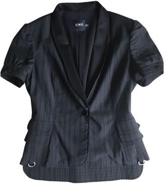 CNC Costume National Black Wool Jacket for Women