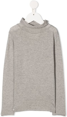 Douuod Kids Roll-Neck Sweater