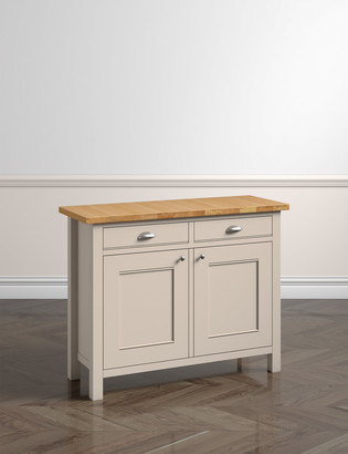 Marks and Spencer Padstow Putty 2 Door Sideboard
