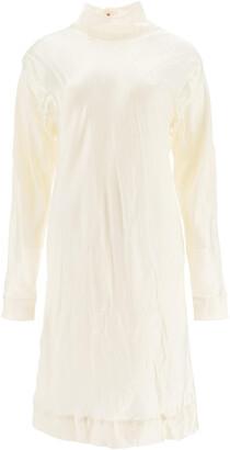 Marni TUNIC DRESS 38 White Silk