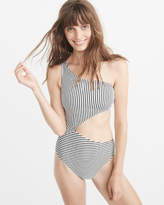 Abercrombie & Fitch One Shoulder One Piece Swimsuit
