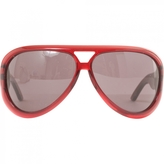 Christian Dior Red Sunglasses