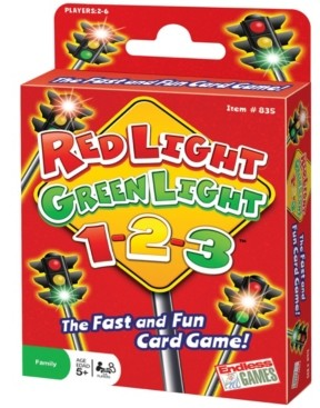 Endless Games Red Light, Green Light, 1-2-3! Card Game