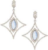 Armenta New World Open Diamond Marquise Doublet Drop Earrings