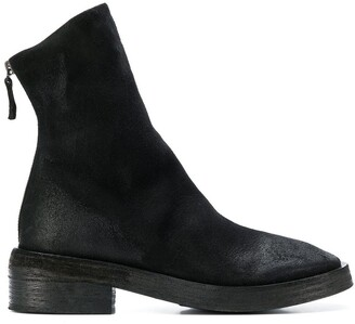 Marsèll Rear-Zip Fitted Boots