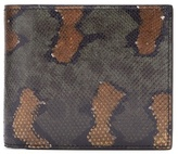 Bottega Veneta Bi-fold Watersnake Wallet