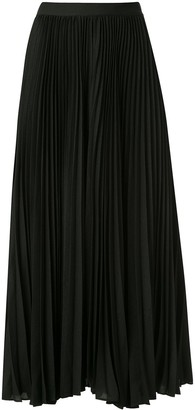 CK Calvin Klein Pleated Midi Skirt