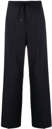 Maison Margiela Straight Leg Flannel Trousers